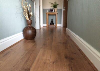 Laminated Flooring In Hallway