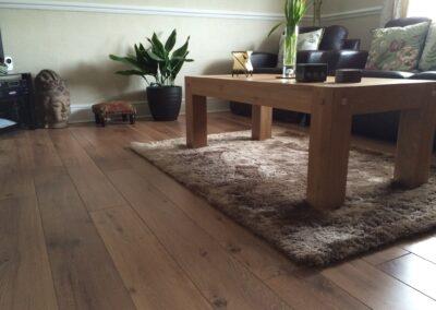 Rug Underneath Coffee Table